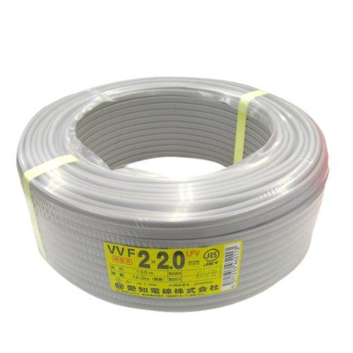 VVFケーブル 2.0mm×2芯 100m